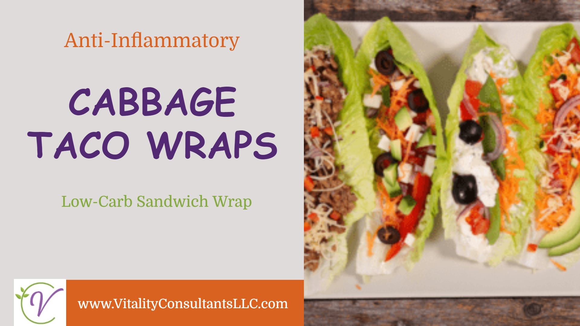 Cabbage Taco Wraps
