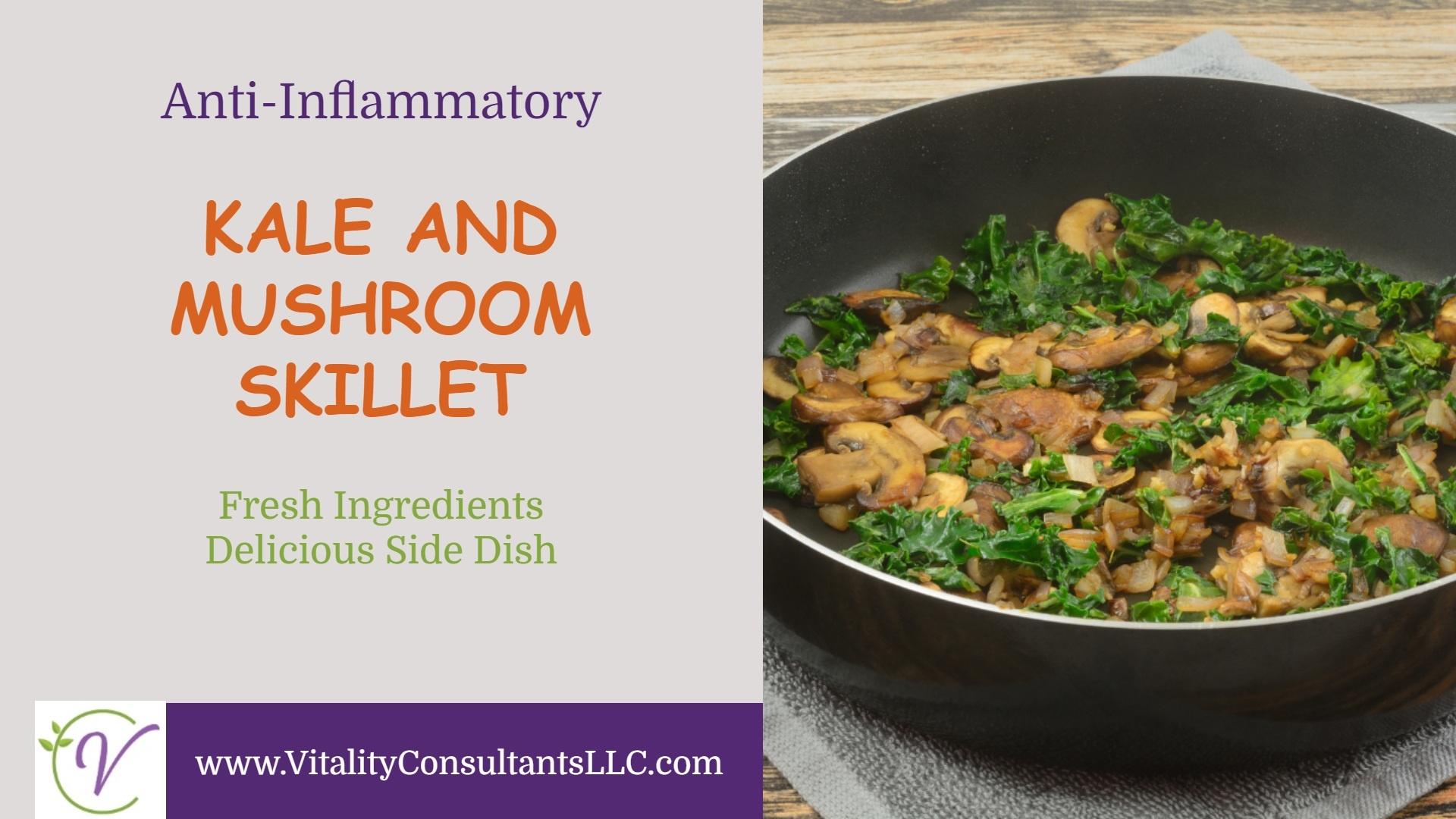 Kale and Mushroom Skillet