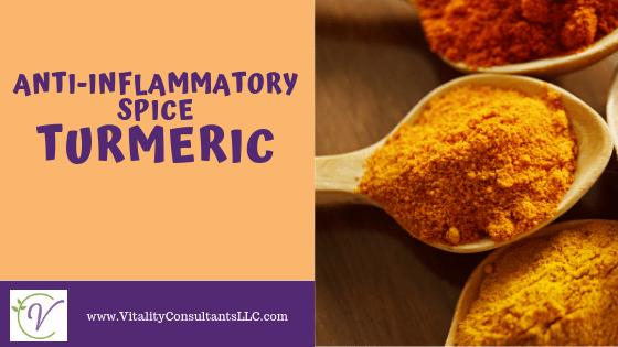 Anti-Inflammatory Spice:  Turmeric Used 5 Ways