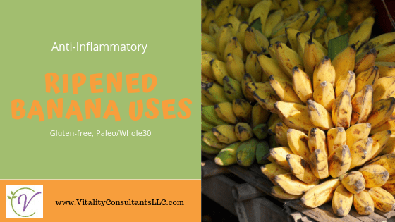 Ripened Banana Uses
