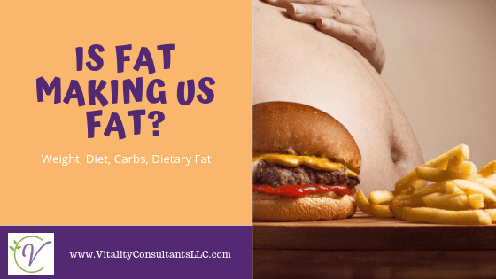 Is Fat Making Us Fat?