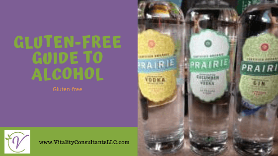 gluten free alcohol