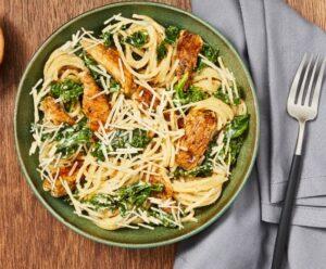 Chicken Kale Spaghetti