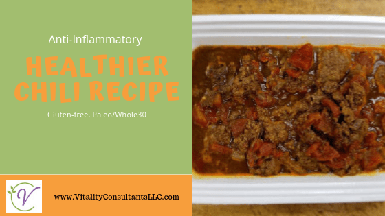 anti-inflammatory chili