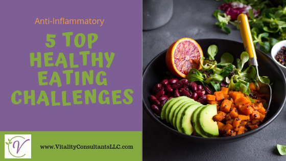 Top 5 Healthy Eating Challenges