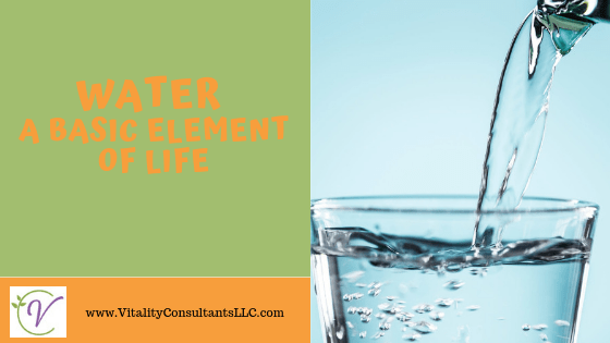 water basic element of life