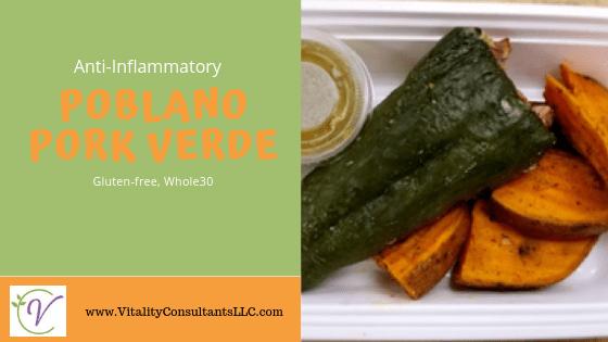 Anti-Inflammatory Poblano Pork Verde