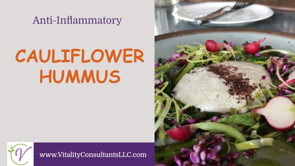 Cauliflower Hummus