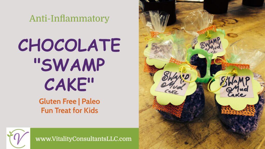 """Anti-Inflammatory Chocolate """"Swamp Cake"""""""