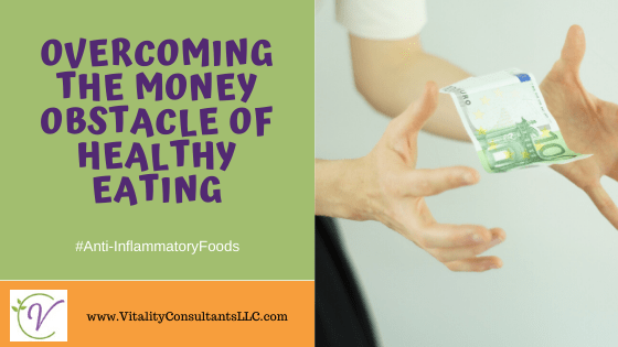 money obstacle of healthy eating