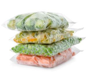 flash frozen vegetables