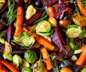 Frozen Vegetables - roasted