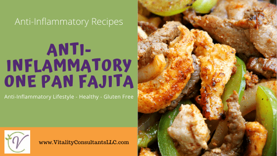 Anti-Inflammatory One-Pan Fajitas