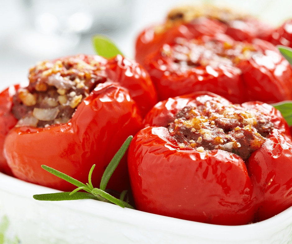 Stuffed Peppers Fasting