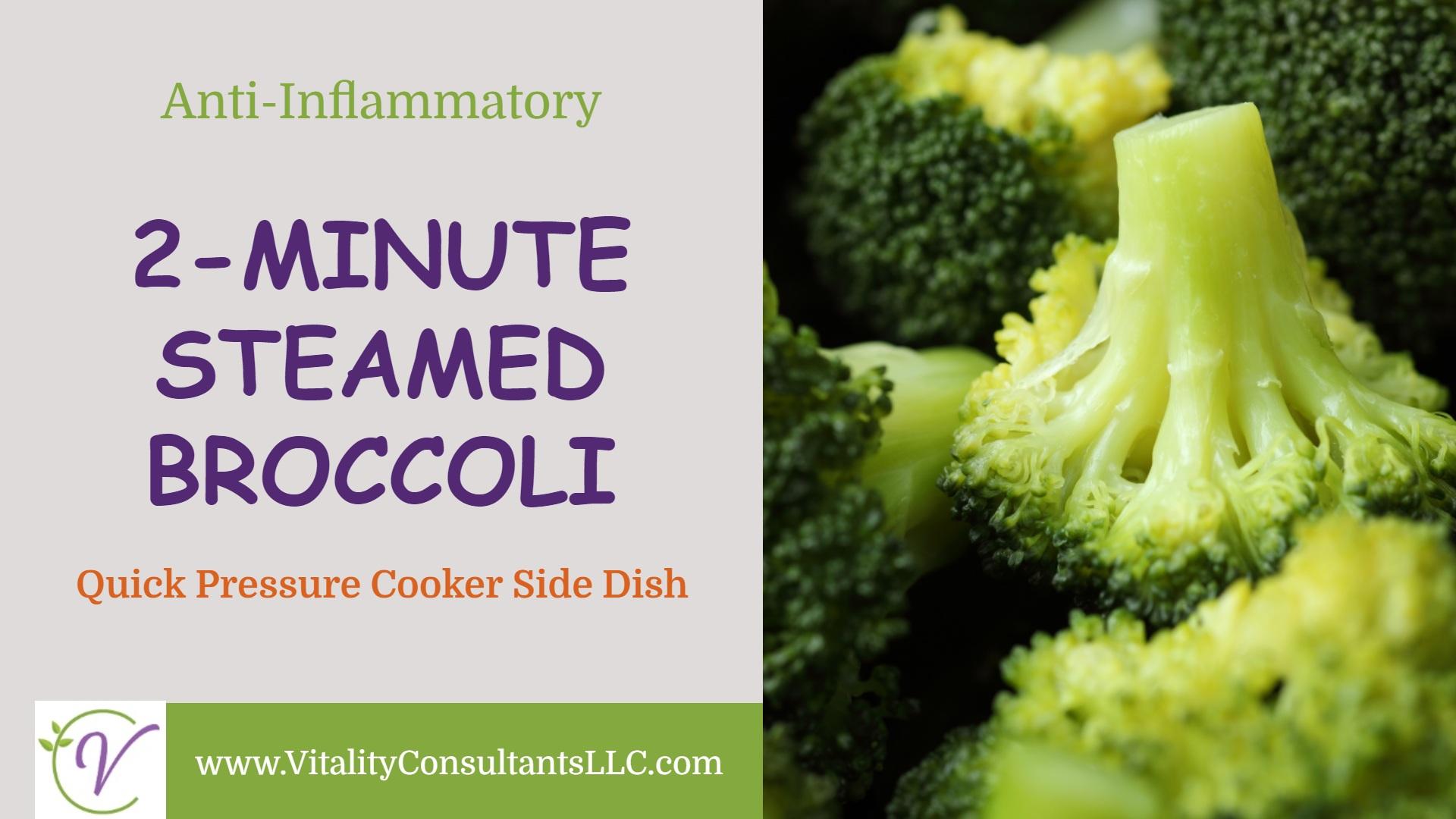2-Minute Steamed Broccoli