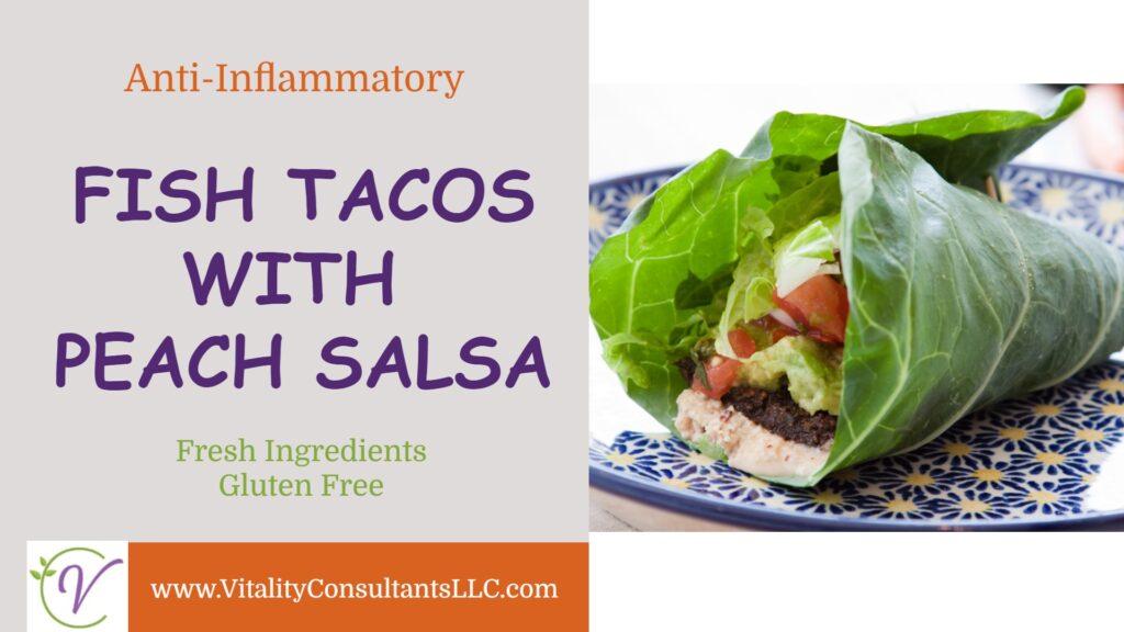 Fish Tacos with Peach Salsa