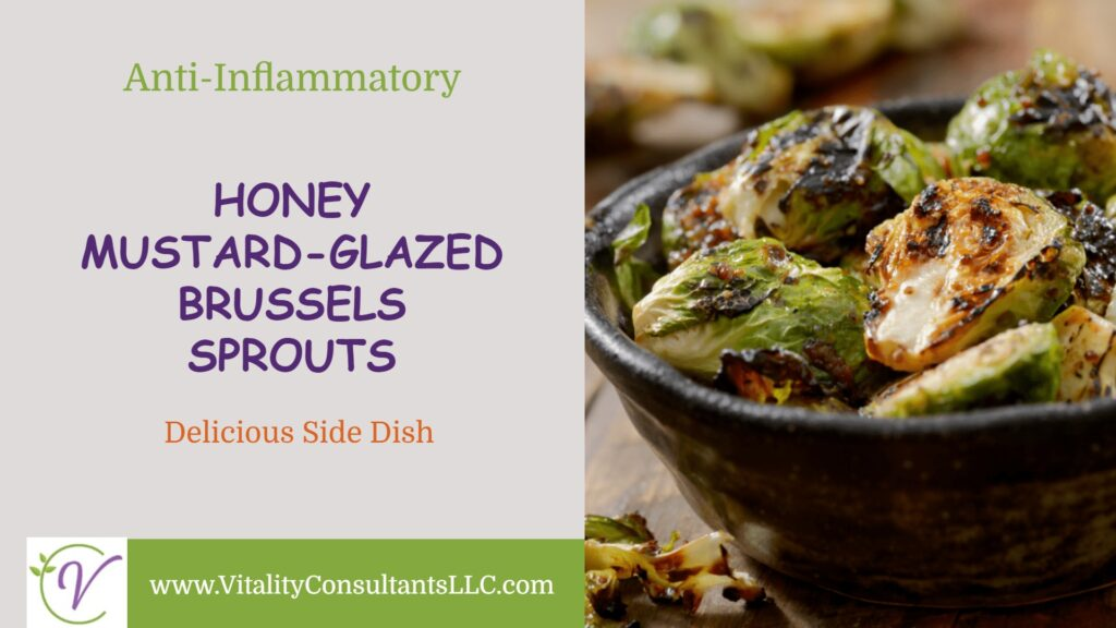 Honey Mustard-Glazed Brussels Sprouts