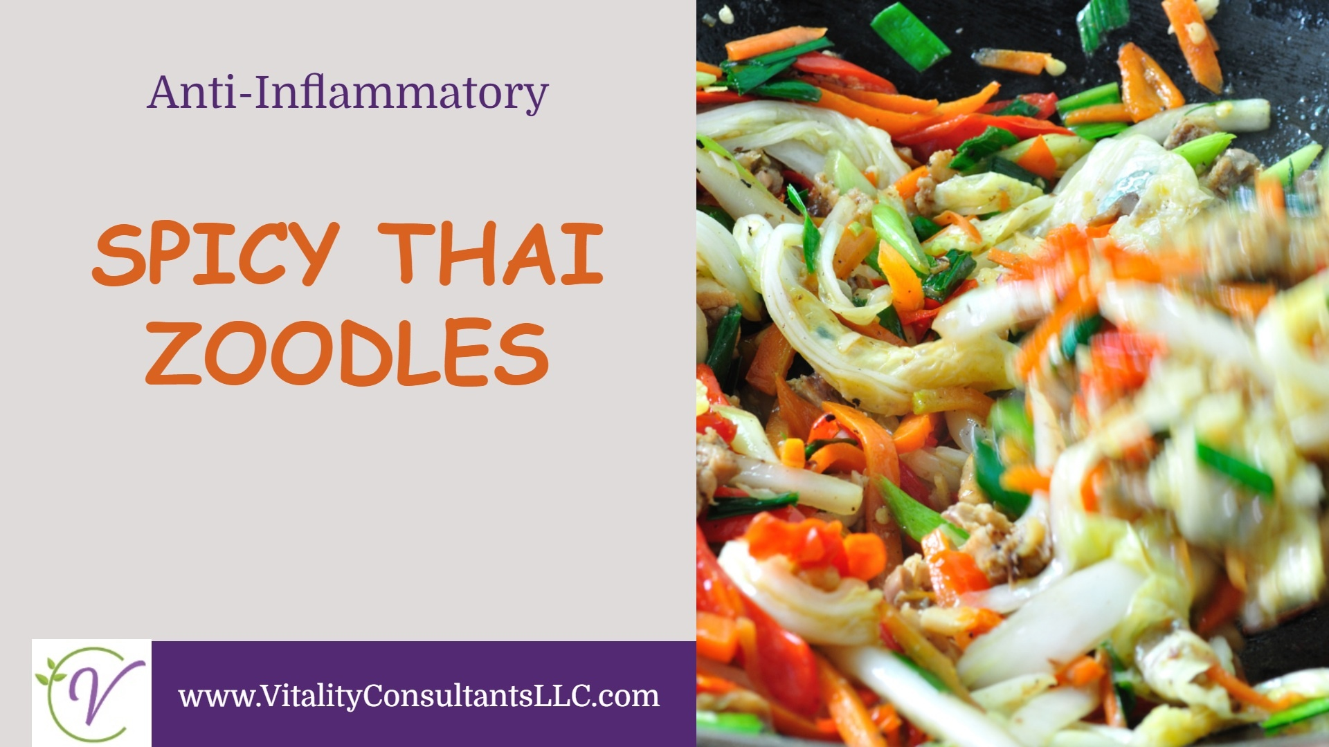 Spicy Thai Zoodles