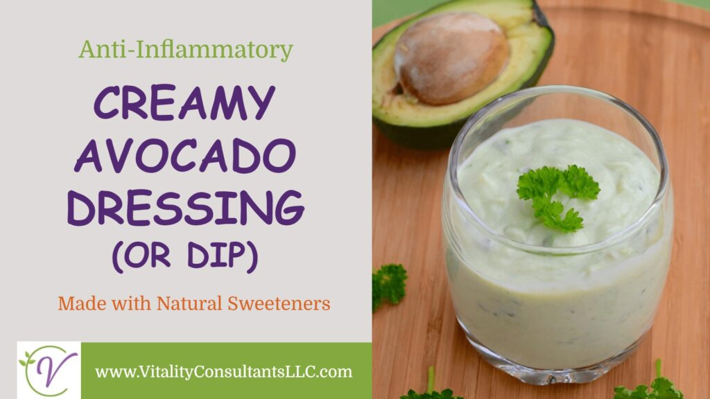 Creamy Avocado Dressing (or Dip)