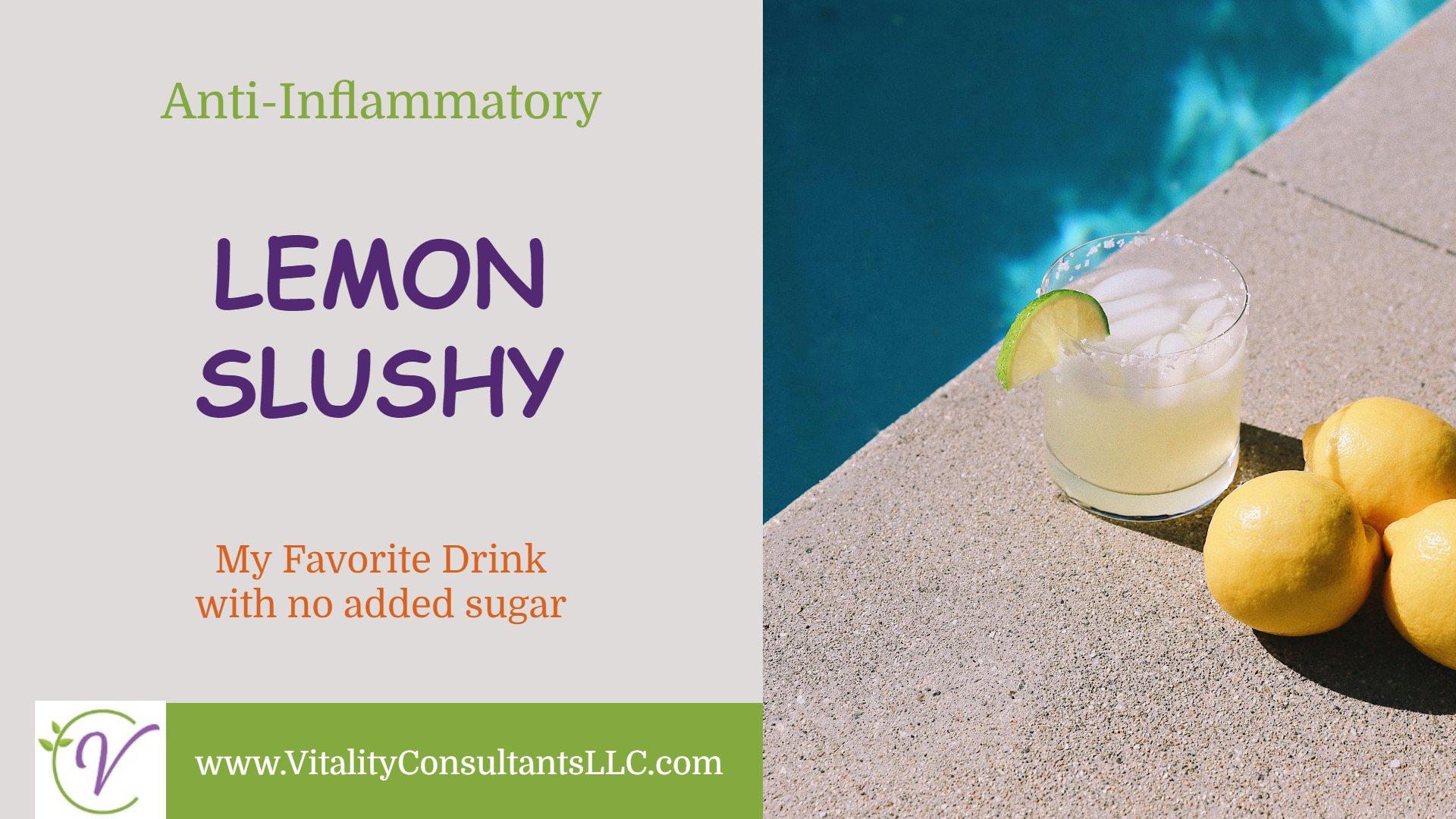 Lemon Slushy
