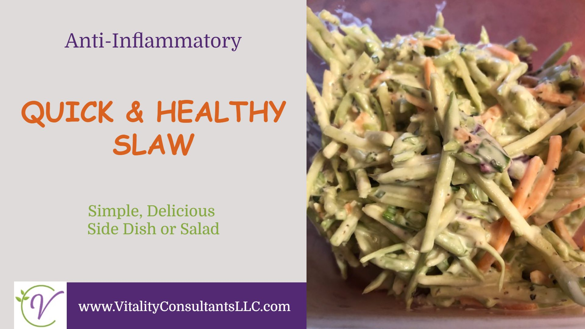 Quick & Healthy Slaw