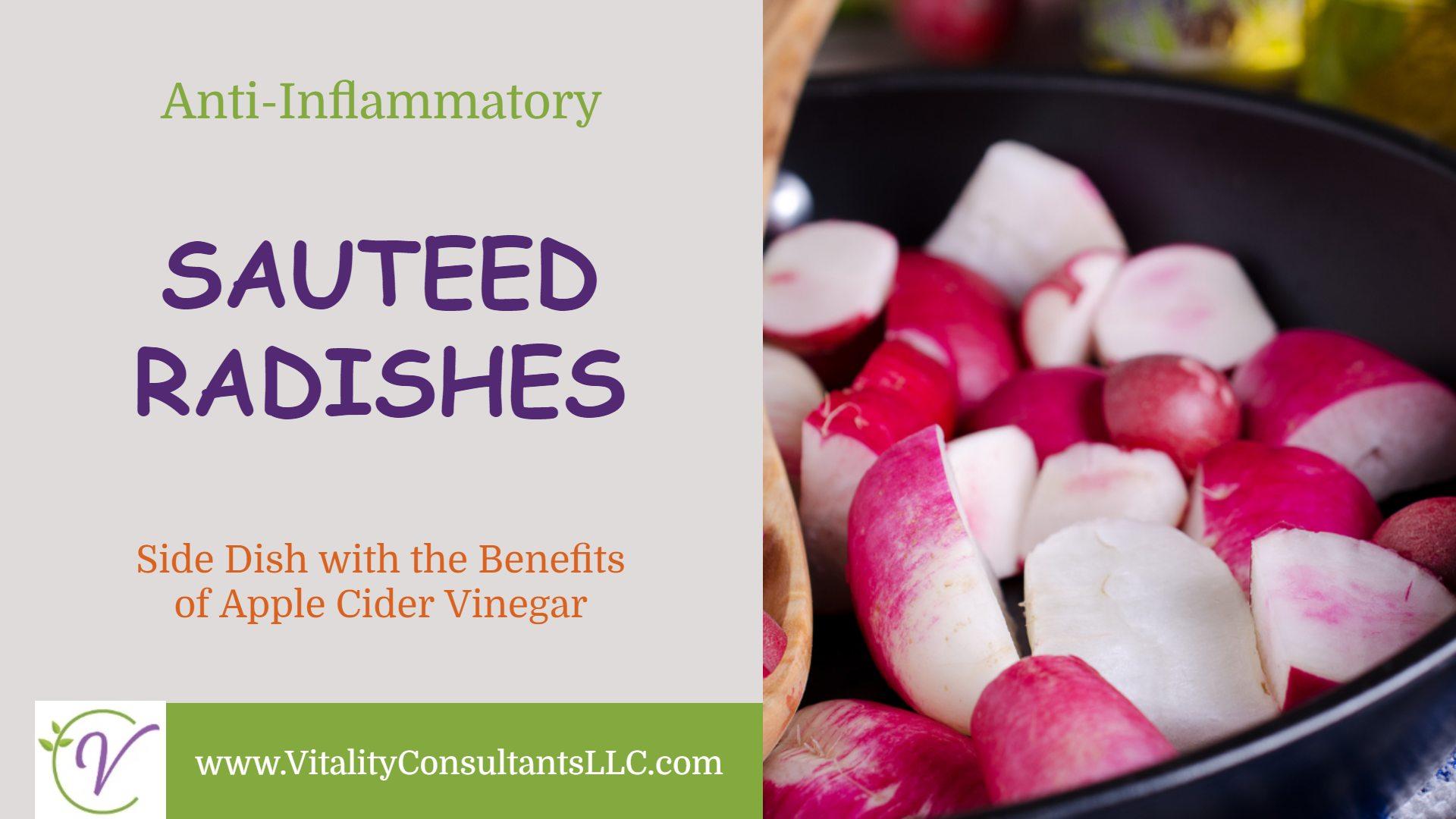 sauteed radishes