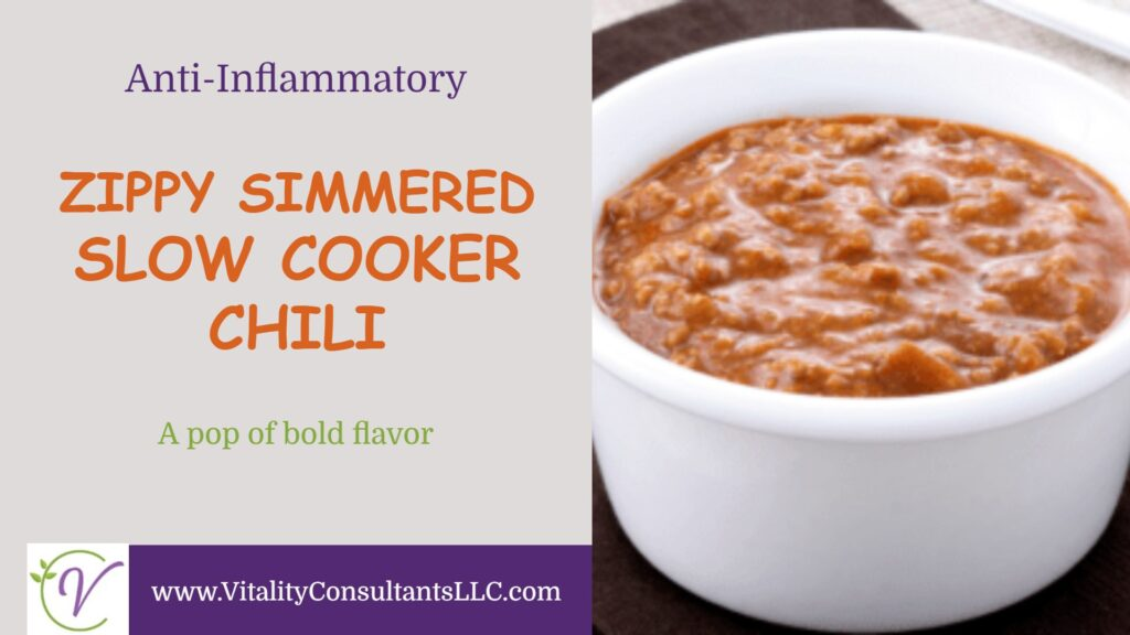 Zippy Simmered Slow Cooker Chili