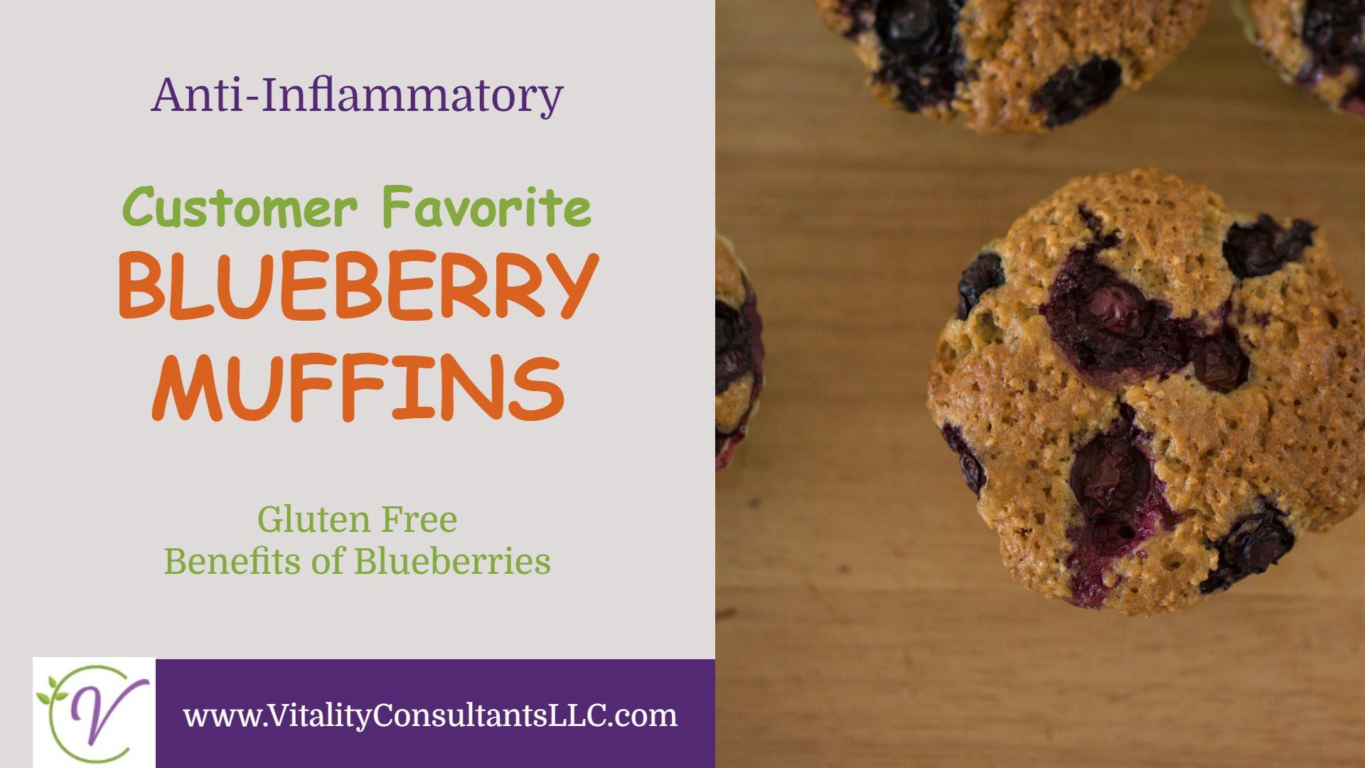 Anti-Inflammatory Blueberry Muffins