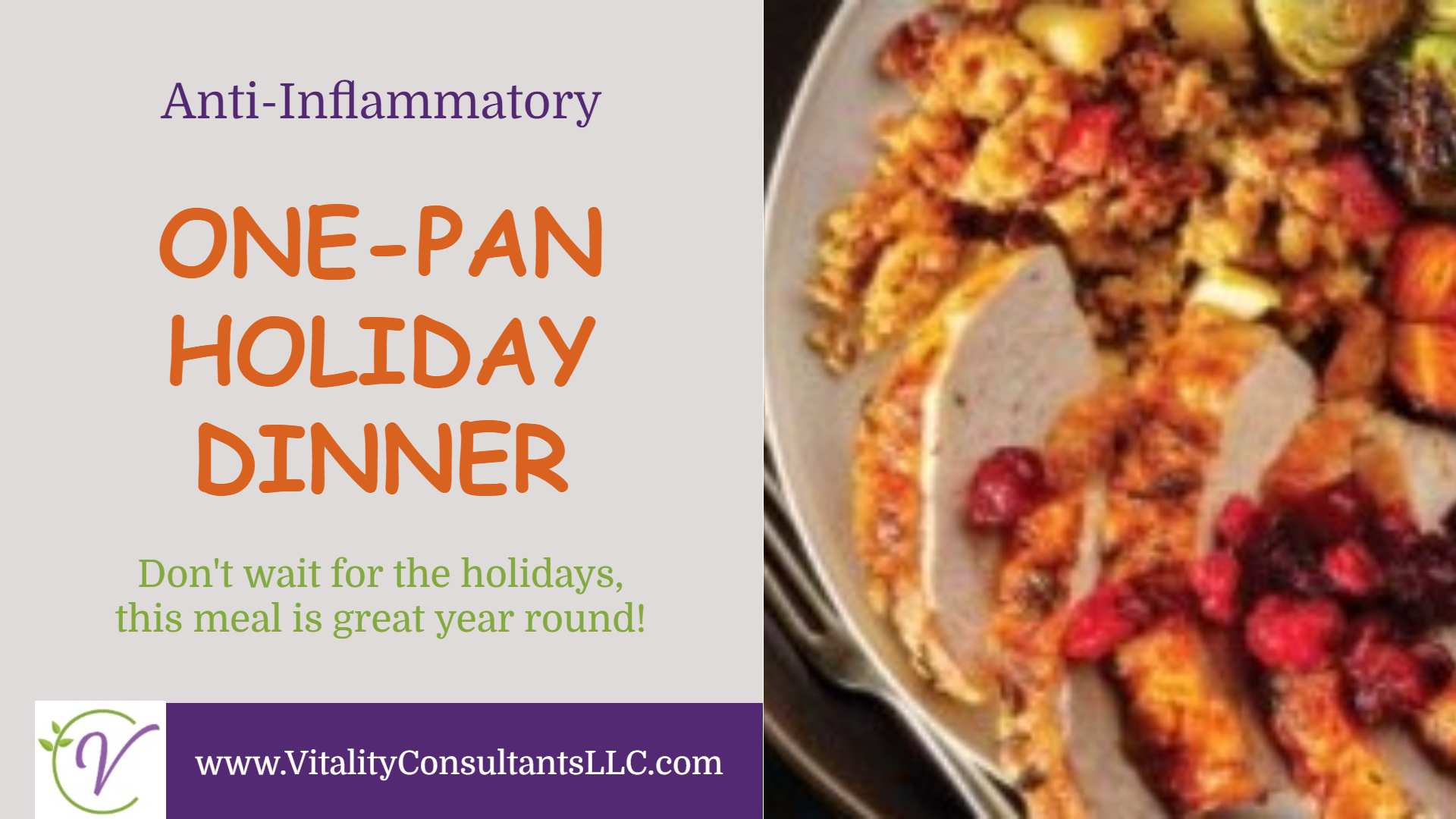 One-Pan Holiday Dinner