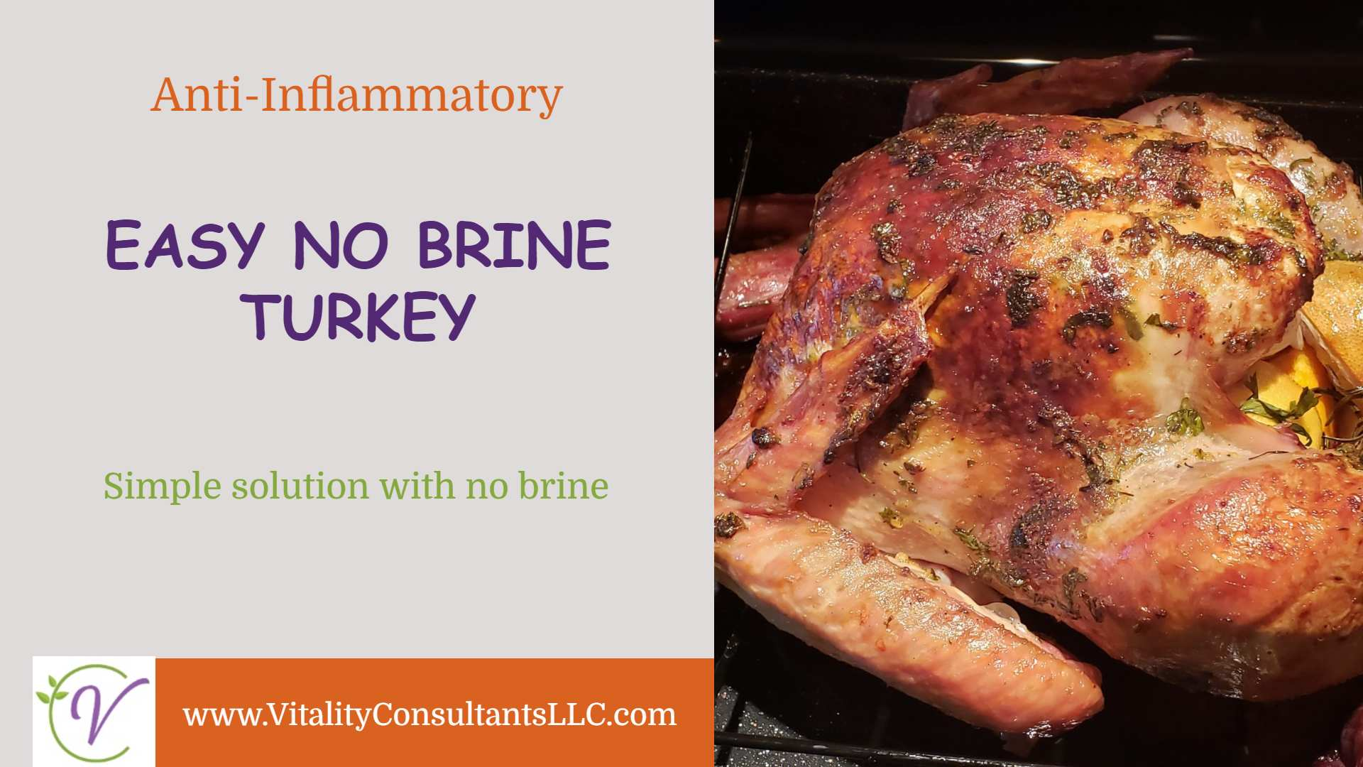 Easy No Brine Turkey