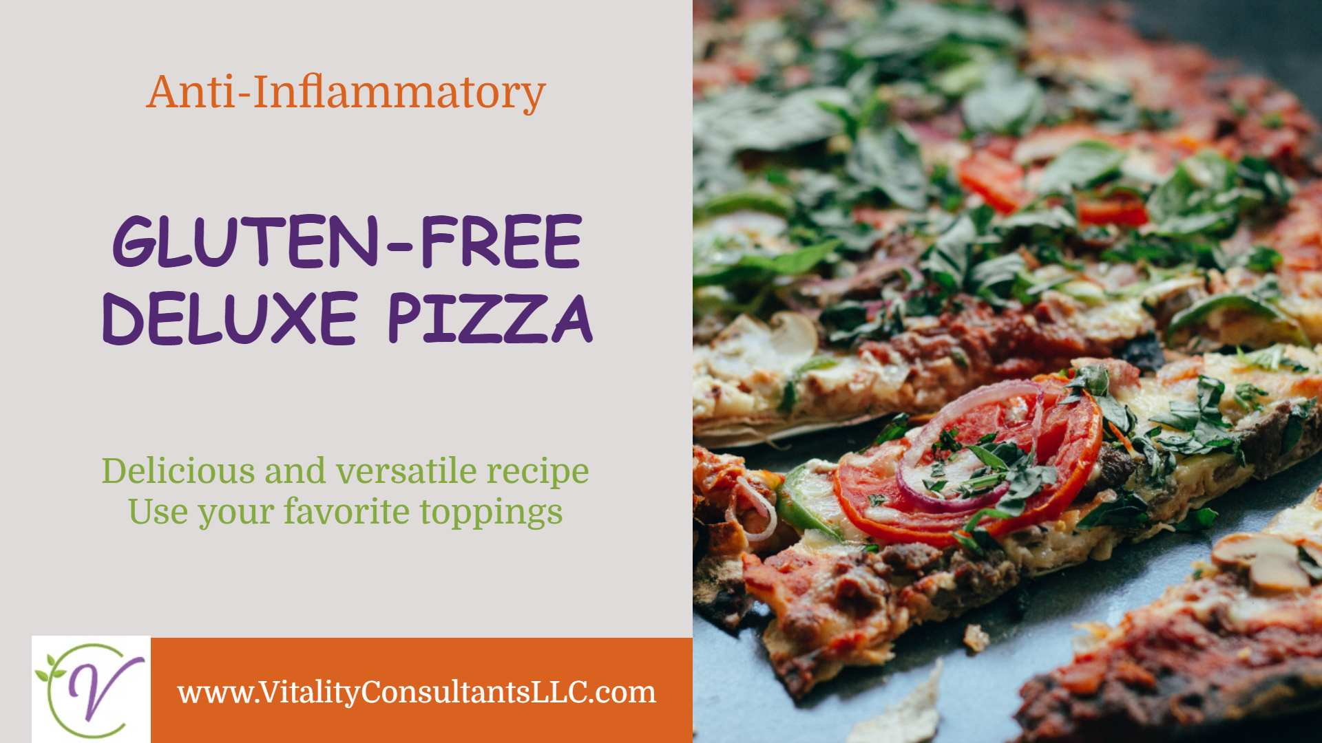 Deluxe Gluten-Free Pizza