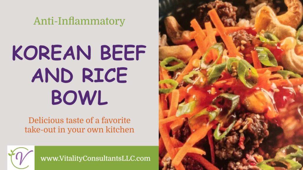 Korean Beef and Rice Bowl