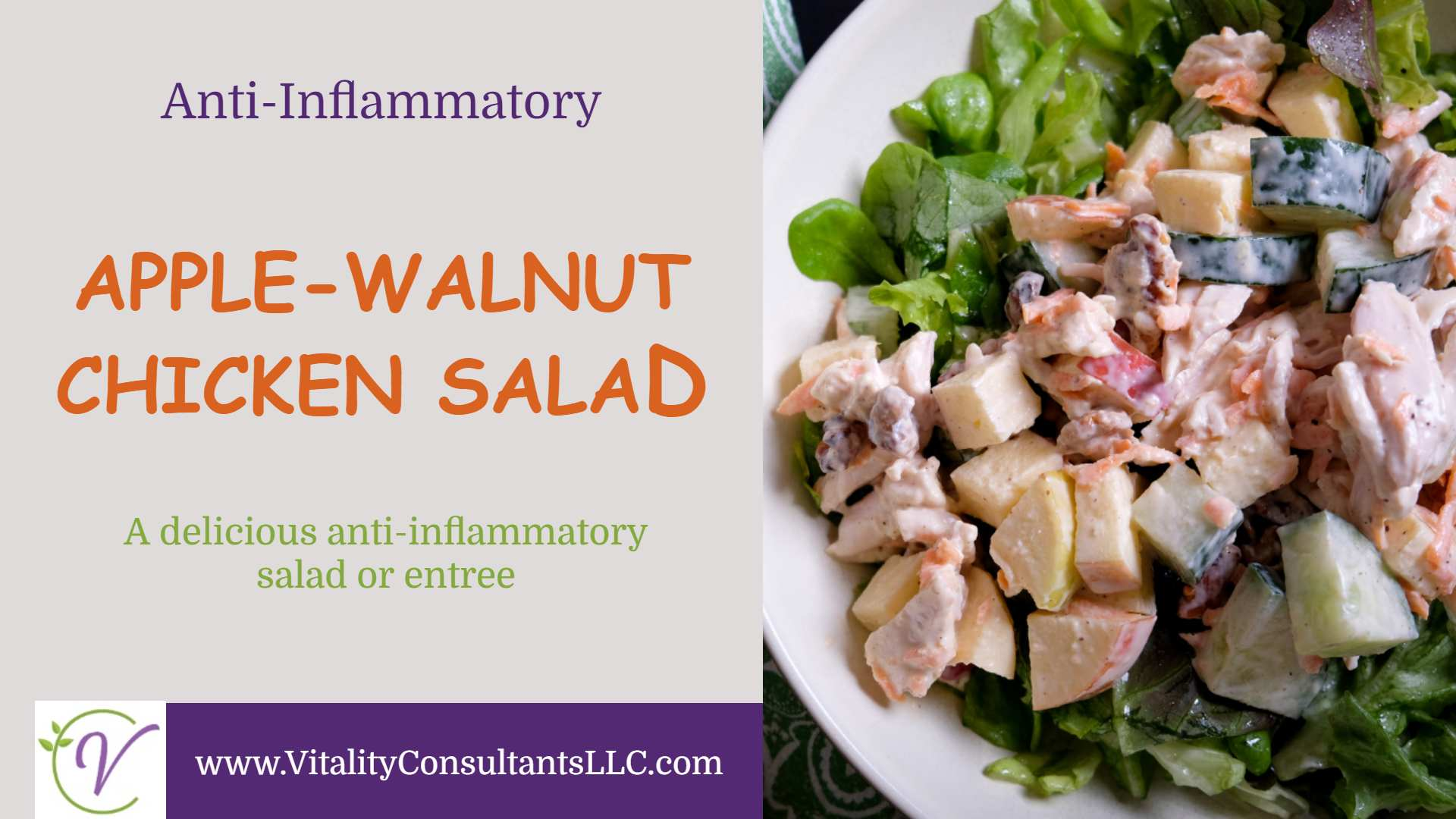 Apple-Walnut Chicken Salad