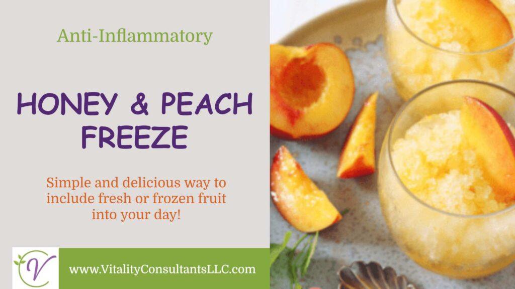Honey & Peach Freeze