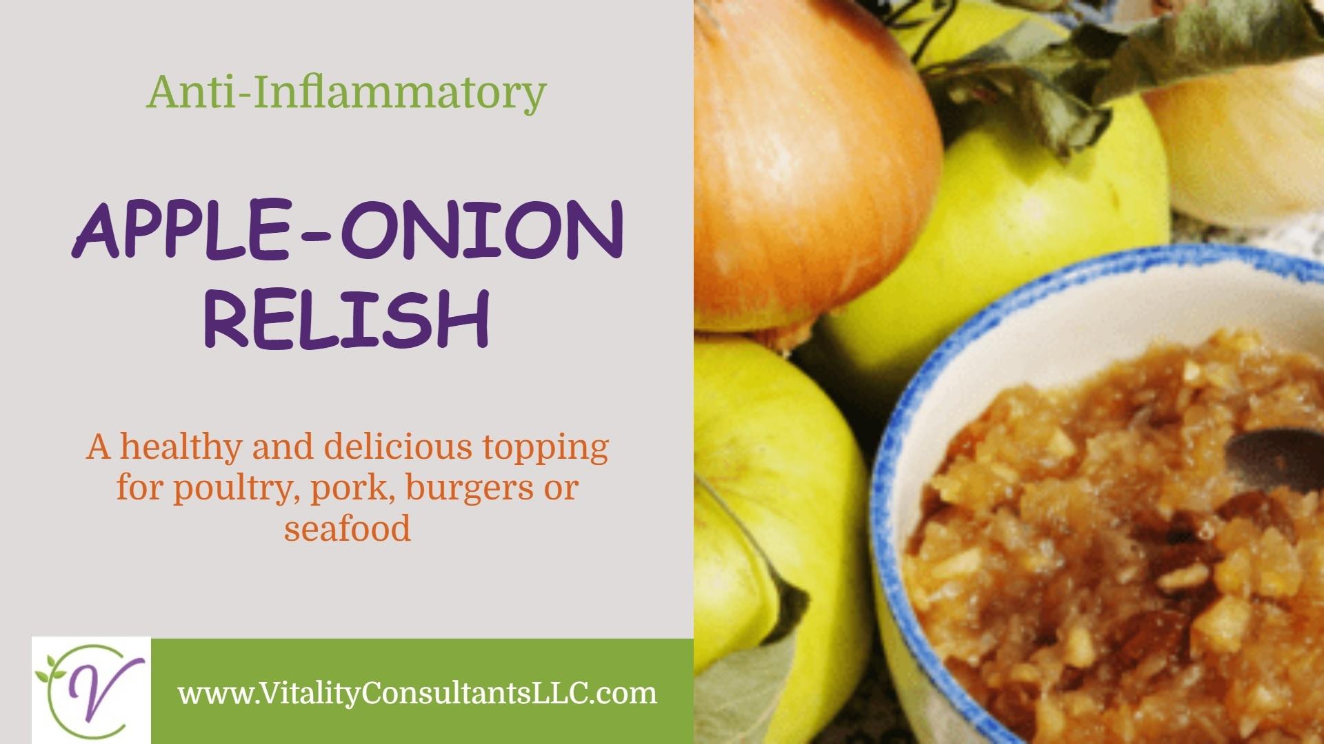 Apple-Onion Relish