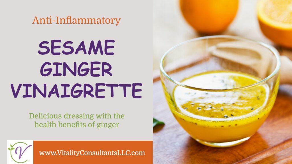 Sesame Ginger Vinaigrette